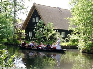 Bild - Spreewaldhaus in Lehde